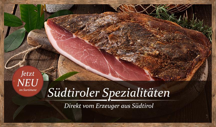 Südtiroler Spezialitäten, direkt vom Erzeuger aus Südtirol!