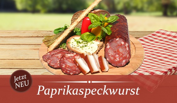 Paprikaspeckwurst