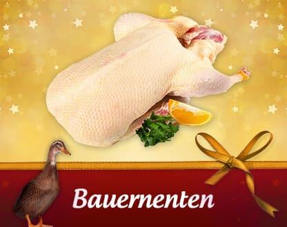 Frische bayerische Bauernenten