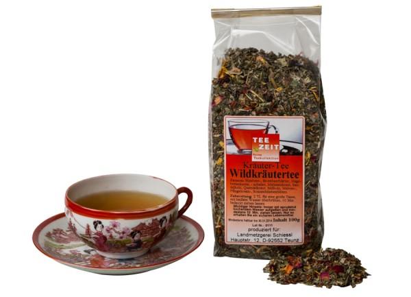 Wildkräuter Tee