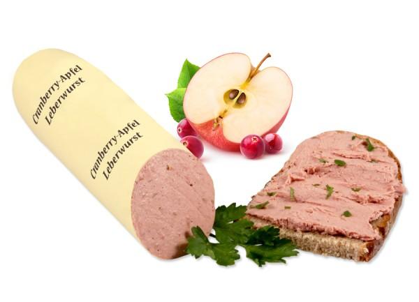 Grambery-Apfel u. Sahne Leberwurst