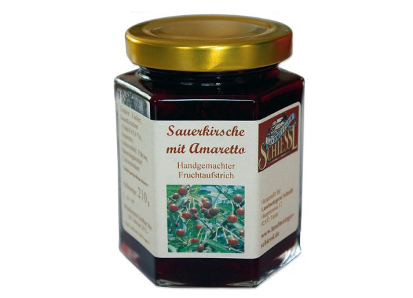 Sauerkirsche mit Amaretto