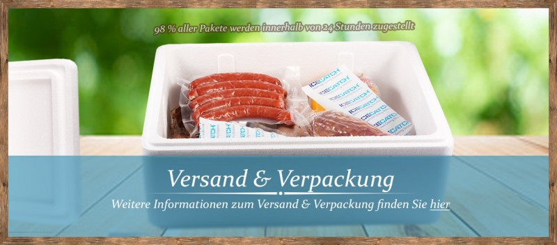 Versand & Verpackung