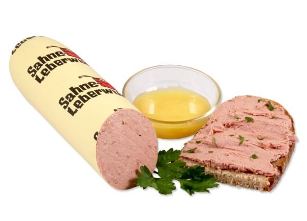 Sahne Leberwurst