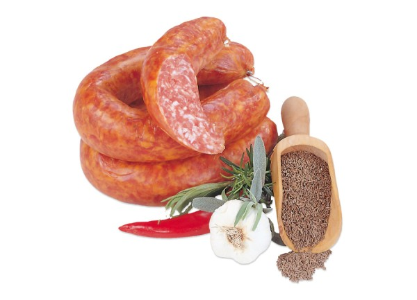 Thüringer Knackwurst mit Kümmel