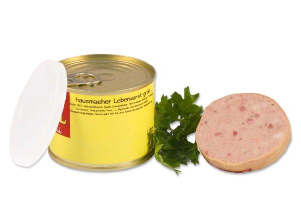 Hausmacher Leberwurst grob