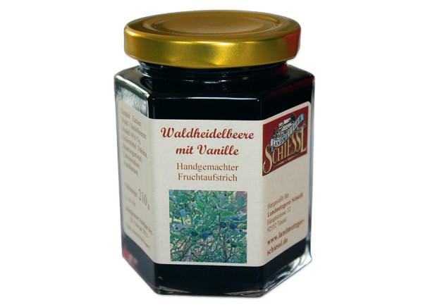 Heidelbeere mit Vanille