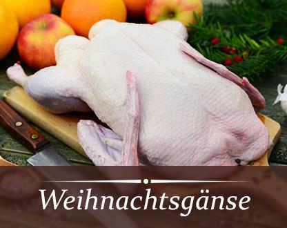Frische Bayerische Weihnachtsgans